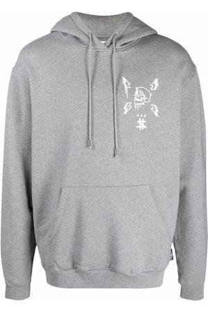 Philipp Plein Herren Sweatshirts - Hoodie mit Logo-Print