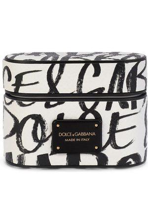 Dolce & Gabbana Herren Handy - AirPods-Hülle mit Monogramm-Print