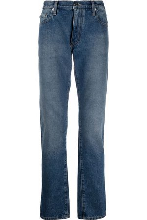 Off-White Schmale Tapered-Jeans