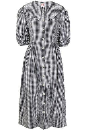 Shrimps Damen Freizeitkleider - Hemdkleid mit Puffärmeln