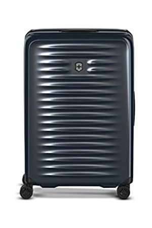 Victorinox Airox Medium Hardside - Leichter Reisekoffer Trolley Hartschale 4 Rollen - (Dunkelblau)