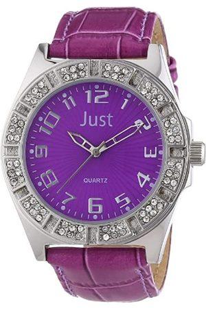 Just Watches Damen-Armbanduhr Analog Leder 48-S3878-PR
