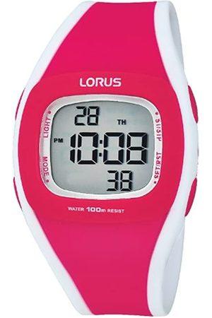 Lorus Damen Uhren - Watches Damen Analog Quarz Uhr mit Edelstahl beschichtet Armband RP666CX9
