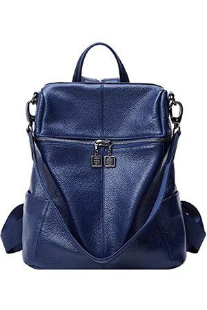 BOYATU Leder Rucksack Handtasche für Frauen Schulter Reisetasche Daypack Damen