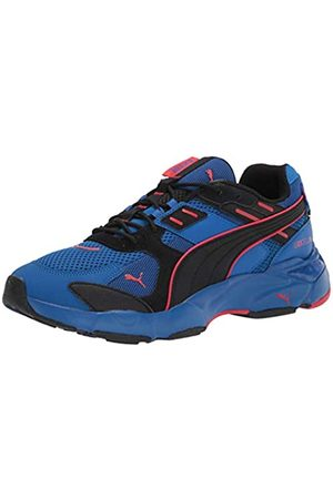 PUMA Mens Cell Sneaker, Lapis Blue-high Risk Red