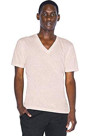 American Apparel Herren Tri-Blend V-Neck Short Sleeve T-Shirt