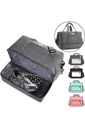 ACECHA Sporttasche, Schuhfach, Schultertasche, Reisetasche, Schwimmtasche für Damen und Herren (