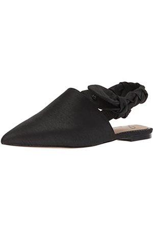 Sam Edelman Damen Rivers Slingback Ballerinas, (Black Silk Dupioni)