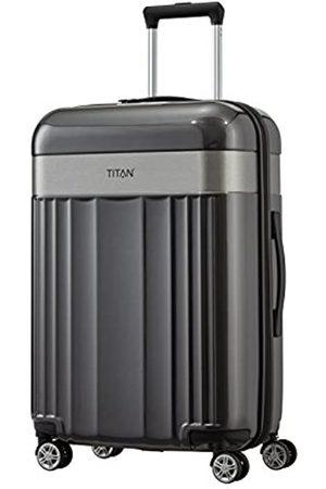 Titan 4-Rad Koffer Größe M mit TSA Schloss, Gepäck Serie SPOTLIGHT: Edler Trolley in trendigen Farben, 831405-04, 67 cm