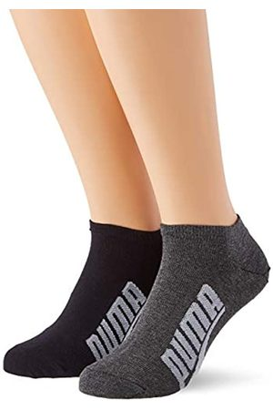 PUMA Unisex-Adult BWT Lifestyle Sneaker-Trainer (2 Pack) Socks, Black/White