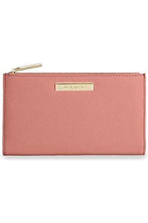 Katie Loxton Alise Damen Geldbörse aus veganem Leder mit Reißverschluss - Pink