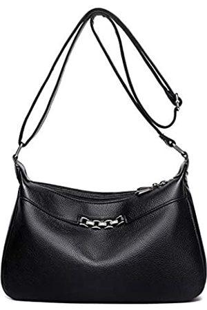 Hiigoo Reisetasche PU Leder Messenger Bag Casual Totes Mode Schultertaschen Handtaschen