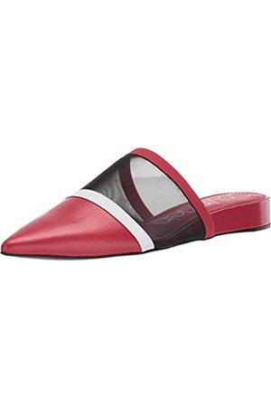 Calvin Klein Damen Cardy Mule, (Netznappa Scarlet/ / )