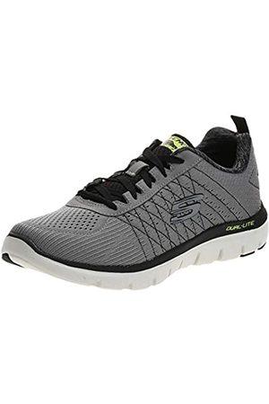 Skechers Herren The Happs-Flex Advantage 2.0 Sneaker, (Light Grey/Black)