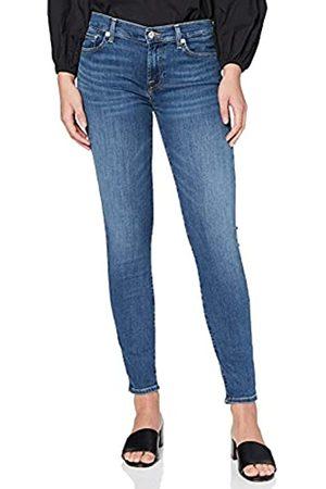 7 for all Mankind Damen Skinny - Damen The Crop Skinny Jeans
