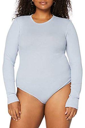 MERAKI Amazon-Marke: Damen Body aus Baumwolle, Blau (Zen Blue), XL