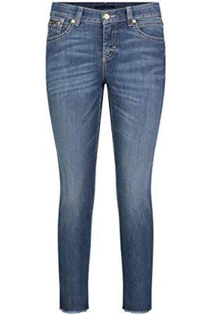 Mac Damen Slim Open Hem Jeans