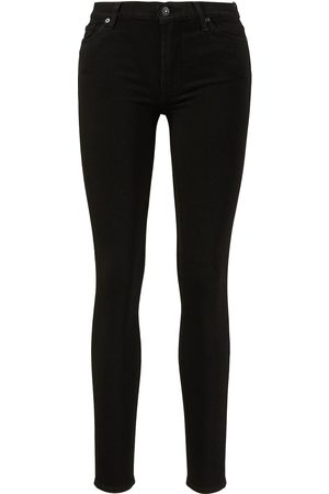 7 for all Mankind Damen Cropped - Jeans 'HW Skinny