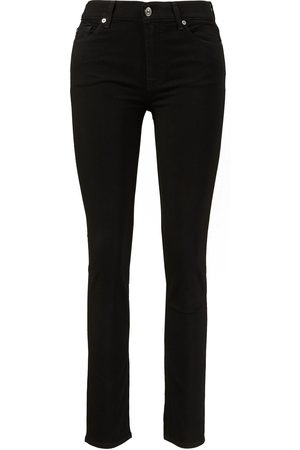 7 for all mankind Damen Cropped - Jeans 'Roxanne Bair