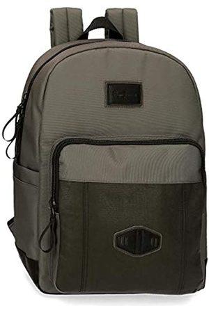 Pepe Jeans Village Laptop-Rucksack 32x44x15 cms Polyester und PU 15