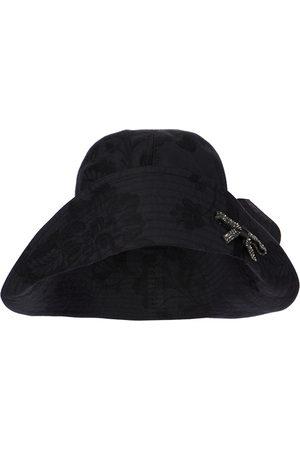 Erdem Verzierter Hut aus Baumwolle