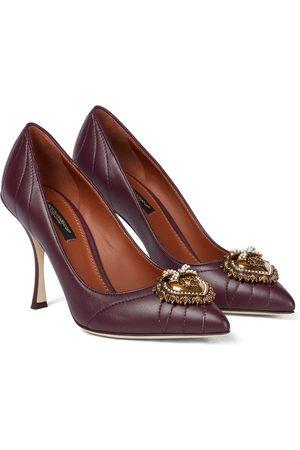 Dolce & Gabbana Pumps Devotion aus Leder