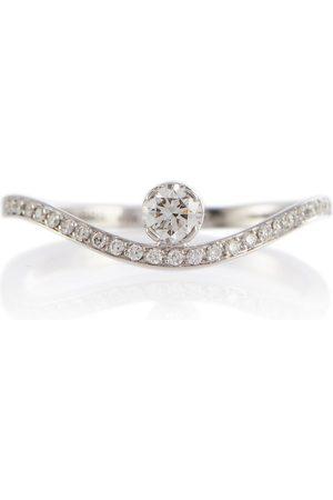 SOPHIE BILLE BRAHE Ring Grace Diamant Blanc aus 18kt Weißgold und Diamanten