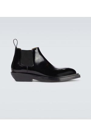 Bottega Veneta Ankle Boots Chisel aus Leder
