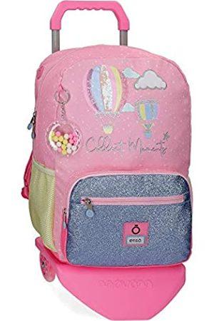 "Enso Collect Moments Laptop-Rucksack mit Trolley für die Schule Mehrfarbig 32x42x15 cms Polyester 14"" 20.16L"
