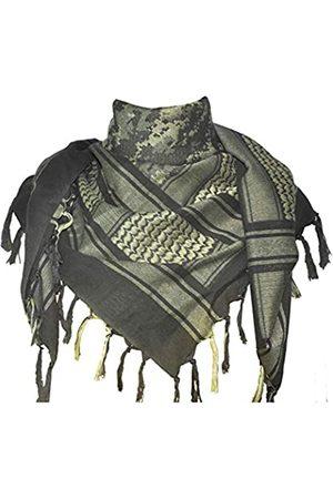 Explore Land Shemagh-Tuch, Wickelschal, 100 % Baumwolle, Militärdesign