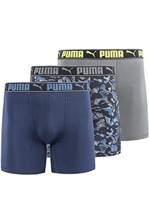 PUMA Herren 3 Pack Sportstyle Boxer Briefs Retroshorts