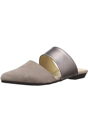 CL by Chinese Laundry Damen Enya Mule, (Taupe/Pewter Suede Metallic)