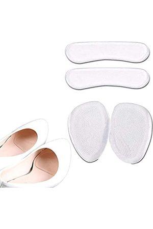 Vivianly 2 Paar Fersenkissen, Fersenpolster, wiederverwendbare selbstklebende Schuheinlagen, Fußpflege, Schutz für Schuhe