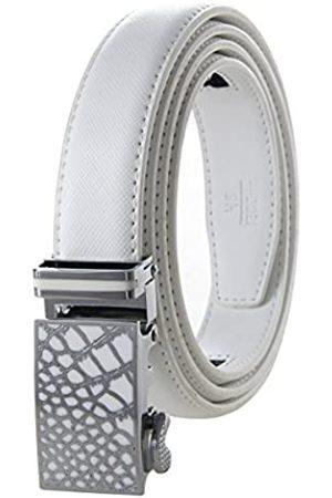 Bpstar Damen Art und Weise Echtes Ratschen Leder Gurt Automatischer Wölbungs Gurt für Frauen 2.8cm alle Größen