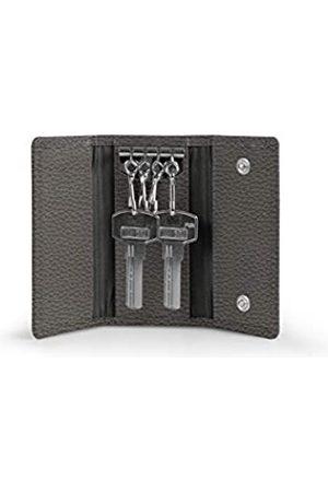 Lucrin Etui für 4 Schlüssel - - Genarbtes Leder
