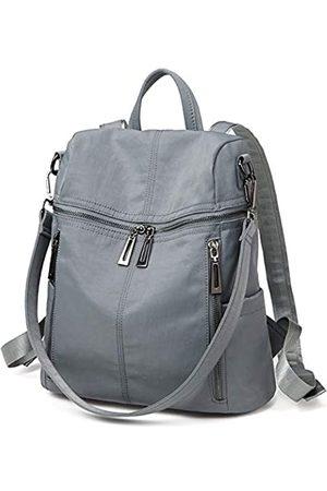 Lecxci Damen-Umhängetasche, groß, Mehrzweck-Leder, Schultertasche, Umhängetasche, Reisetasche, Wanderrucksäcke, (Stil 2, )