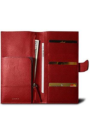 Lucrin Reisebrieftasche für fünf Kreditkarten - - Genarbtes Leder