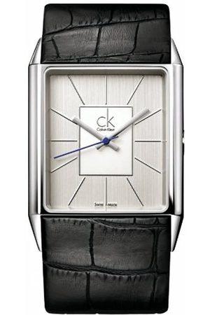 Calvin Klein Herren-Armbanduhr Angular Gent Leather K9621120