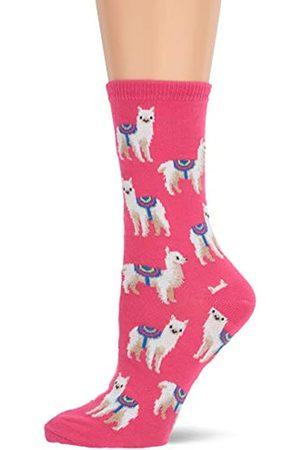Hot Sox Llamas Pink Mannschaftssocken