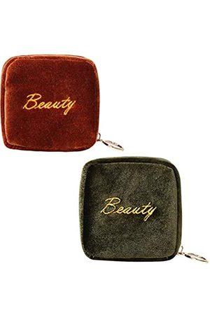 GERINLY Aufbewahrungstasche für Lippenstifte, mit Reißverschluss
