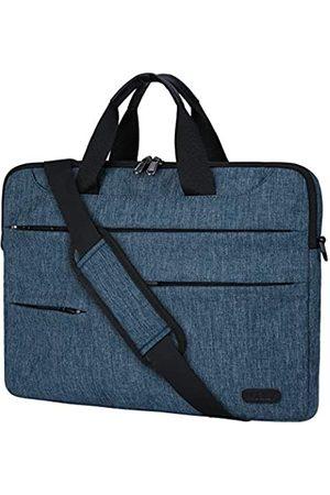 NUBILY Laptoptasche für Herren 13,4 / 14 Zoll (33,4 / 35,6 cm), wasserabweisend, Aktentasche für Arbeit und Business, Kuriertasche, Tablet-Griff, Notebook