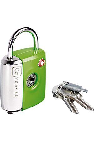 Design go Dual Combi Key Lock Green