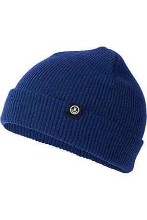 Neff Unisex-Erwachsene Serge Knit Fold Beanies, Marineblau