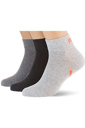 PUMA Unisex-Adult Lifestyle Quarter (3 Pack) Socks