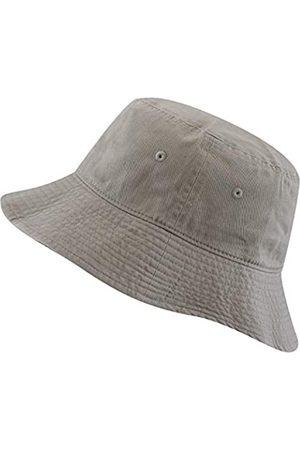 The Hat Depot Fischerhut, 100 % Baumwolle, mit langer Krempe und tiefer verstaubar