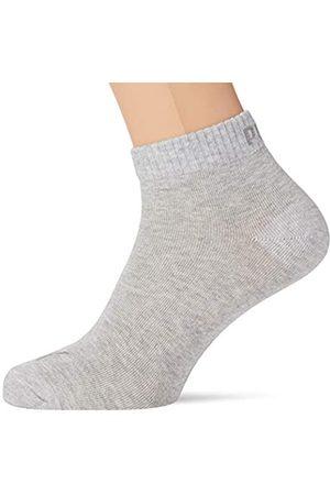 PUMA Unisex Unisex Quarter Plain (5 Pack) Socks