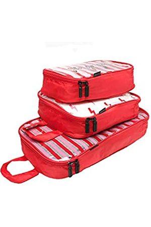 MIAMICA Packwürfel für Reisen, 3-teiliges Set