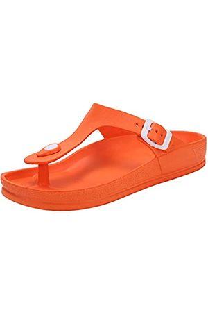 Lancholy Unisex Women's and Men's Flat Sandals Comfort Footbed Slippers Adjustable Slides Slip on EVA Shoes U6BKEVAJJ-HM- -39