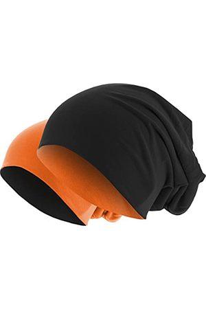 MSTRDS Unisex Strickmützen Jersey Beanie Reversible