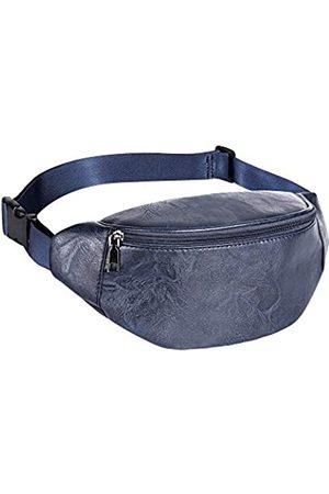 Geestock Leder Gürteltasche Designer Hüfttasche Multifunktions Leder Hüfttasche Handy Pounch Halter Geldbörse für Herren/Damen mit verstellbarem Gürtel zum Wandern